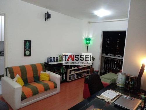 Apartamento Com 2 Dormitórios À Venda, 54 M² Por R$ 450.000,00 - Vila Gumercindo - São Paulo/sp - Ap7680