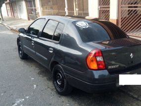 Clio 2001 1.0 16v C/ Bloqueador E Gps Contra Furto/assalto