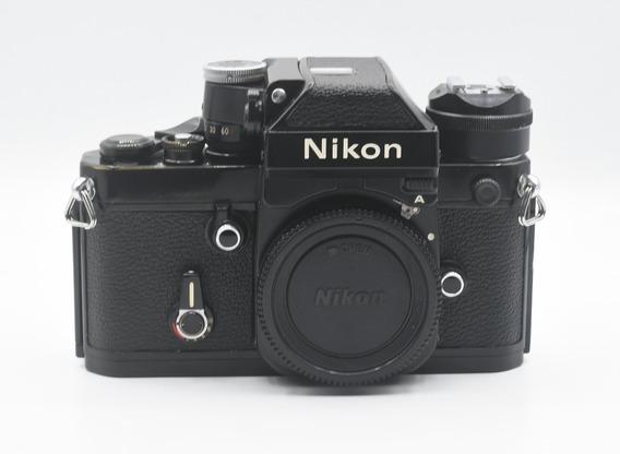 Nikon F2 Com Fotometro A (funcionando), Sapata