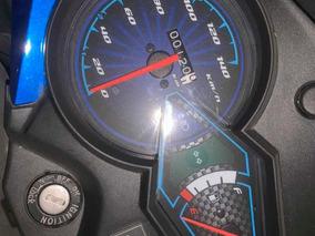 Moto Honda Cb 110 Color Azul
