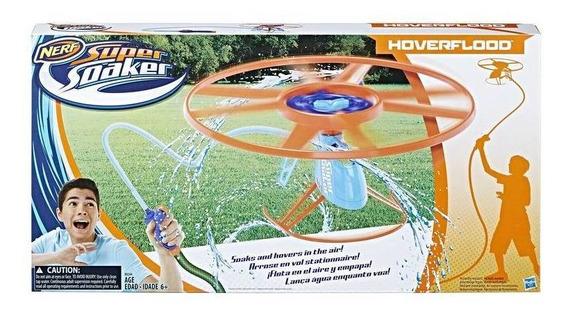 Lançador De Água Nerf Super Soaker Hoverflood - Hasbro B6766