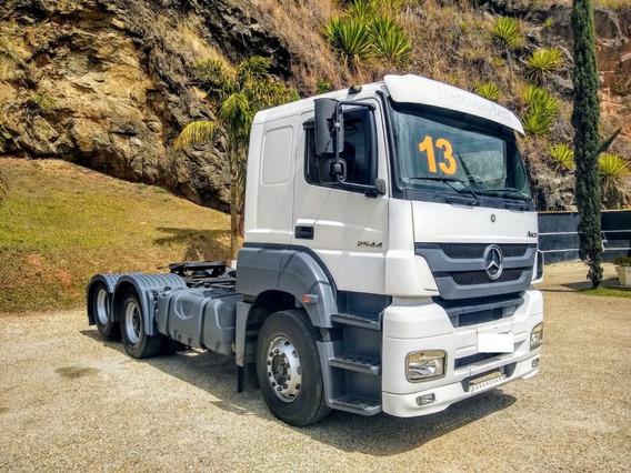 M Benz, Axor 2544, 6x2, 2013, Automático!!!