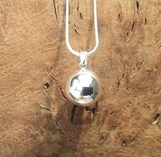 Silver Simple Ball L Harmony Ball Necklace Kit L