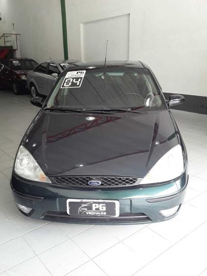 Ford Focus Glx 2.0 Automático Verde 2004 5p