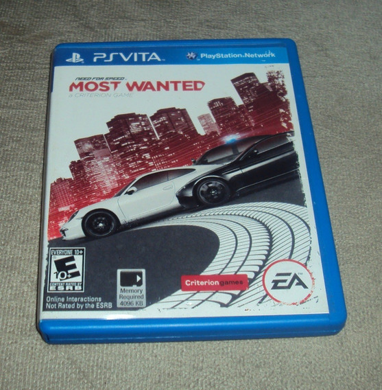 Need For Speed Most Wanted Original Para Psvita