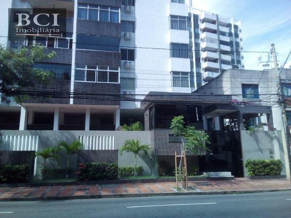Apartamento À Venda, 95 M² Por R$ 330.000,00 - Graças - Recife/pe - Ap3714