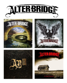 Alter Bridge - 4 Studio Albums [4cd] Import Lacrado Blackbir
