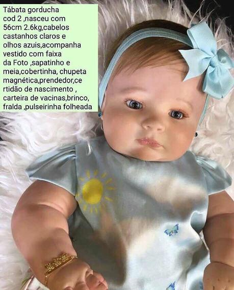 Bebê Reborn Gorducha Tabata Corpo Siliconado