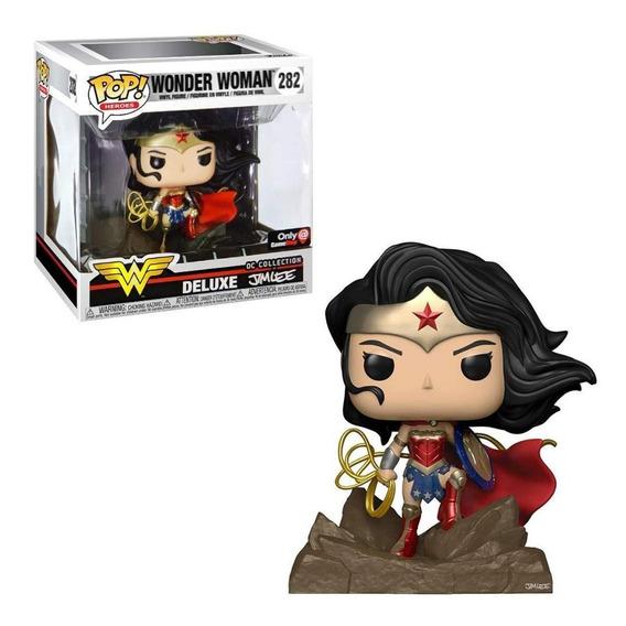 Funko Pop Deluxe Jim Lee Dc Collection Wonder Woman Ex #282