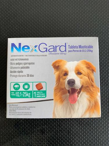 Nexgard De 10-25 Kg Para El Control De Pulgas Y Garrapatas