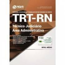 Apostila E Curso Grátis Trt-rn 2017 - Téc Judi - Área Admin