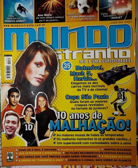 Revista Mundo Estranho Nº 35 - Janeiro/2005