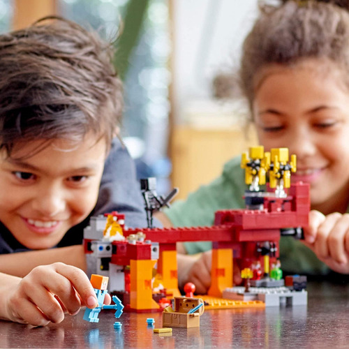 Lego Minecraft The Blaze Bridge 21154 Kit De Const (372 Pza)