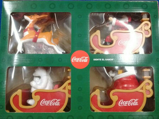 Trineo Coca Cola Edición 2018 Colección Completa