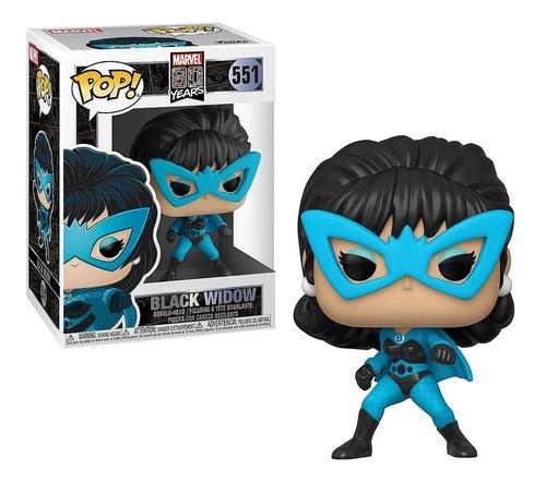 Funko Pop! 551 Black Widow Marvel 80y Viuda Negra Candos