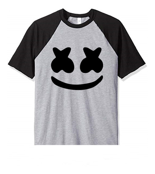Remera Niño Marshmello Dj Face Fortnite Infantil Mod6