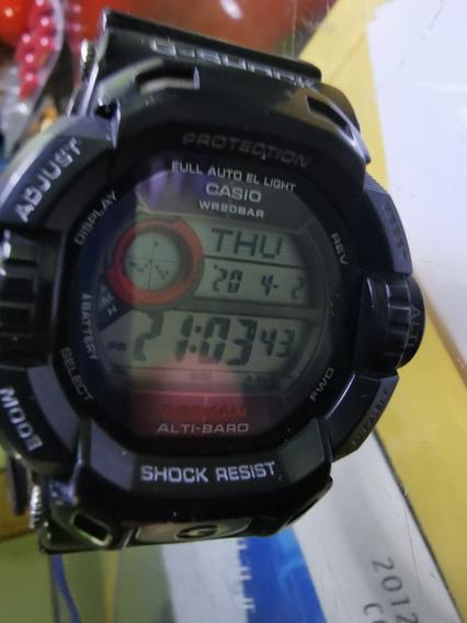 Lindo Relogio Casio G Shock Riseman G9200 N~ Aqualand!!!