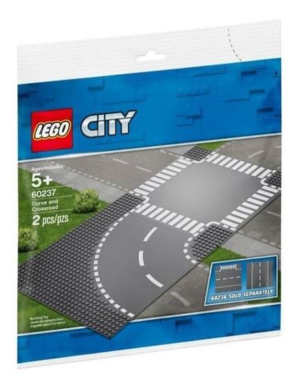 Lego 60237 Curvas Y Cruce