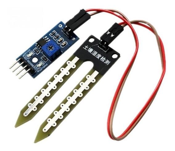 Sensor De Umidade Do Solo Higrômetro Ideal Arduíno Pic