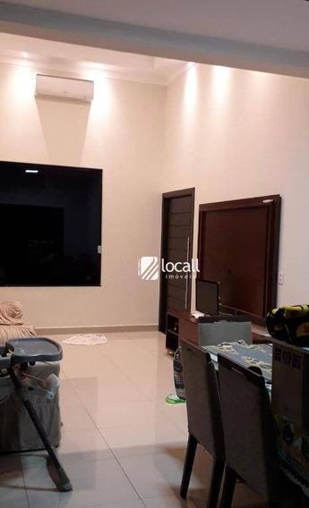 Casa Com 2 Dormitórios Para Alugar, 77 M² Por R$ 1.100/mês - Setparque Avenida 2 - São José Do Rio Preto/sp - Ca2054