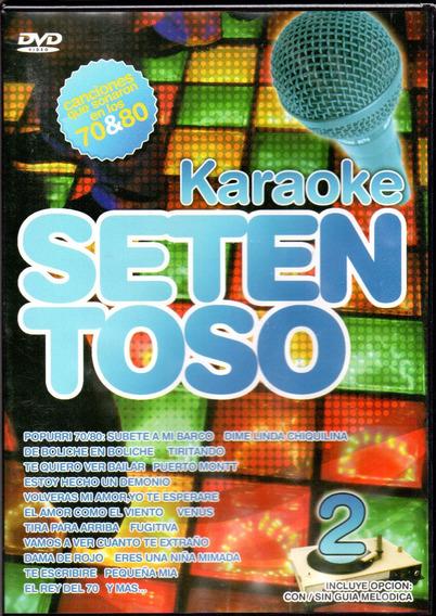 Karaoke Setentoso Dvd - Los Chiquibum
