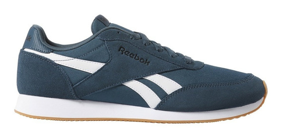 Zapatillas Reebok Moda Royal Cl Jog 2 Hombre Pe/bl
