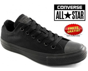 Tênis Converse All Star Monochrome Preto Compre 1 Nº Menor