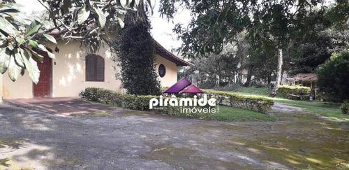 Chácara Com 3 Dormitórios À Venda, 2084 M² Por R$ 1.060.000,00 - Jardim Uirá - São José Dos Campos/sp - Ch0088