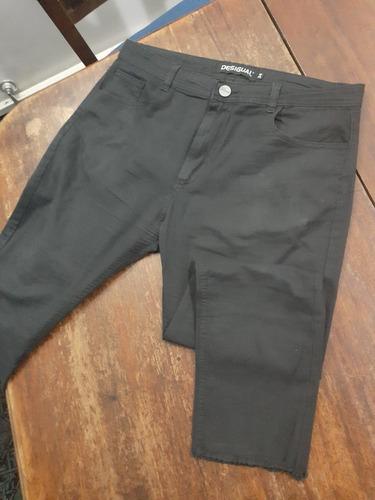 X2 Pantalones X1capri Gabardina Hombre Negro Beige Verde Mercado Libre