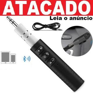 Receptor Bluetooth Adaptador Musica P2 Chamada Carro Atacado