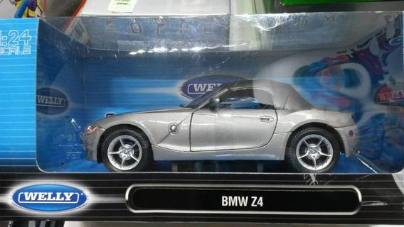 Welly Auto Bmw Z4 Escala 1/24 Metal La Plata Myuj