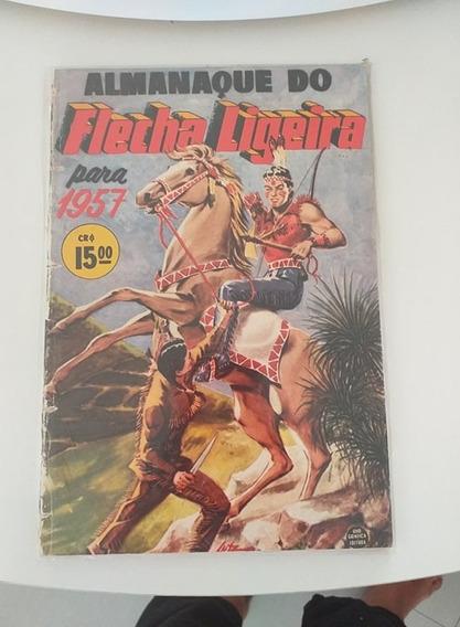 Almanaque Do Flecha Ligeira 1957 (frete Gratis)