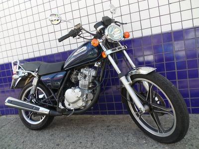 Intruder 125 Azul 2011 Moto Impecavel!!!! Linda Demais