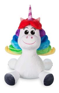 Disney Parks Peluche Unicornio Intensamente Rainbow Nuevo!!