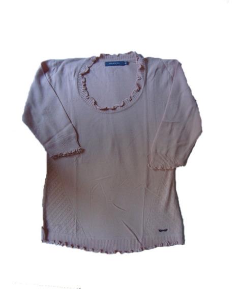 Markova Sweater Hilo Salmon T.44 E.gratis Cuotas S/int