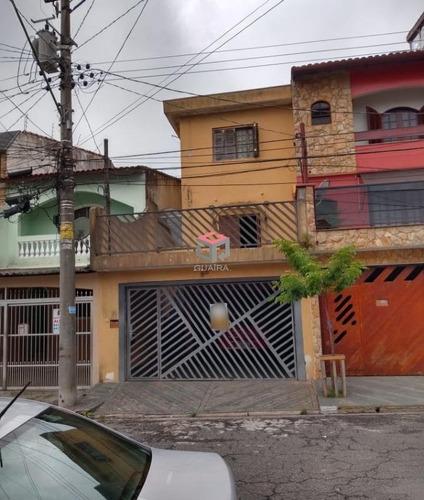 Ótimo Sobrado À Venda - 3 Dormitórios - 3 Vagas - Gerassi - Santo André-sp - 40418
