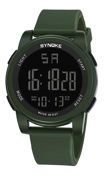 Relógio Masculino Synoke Luminous 9002
