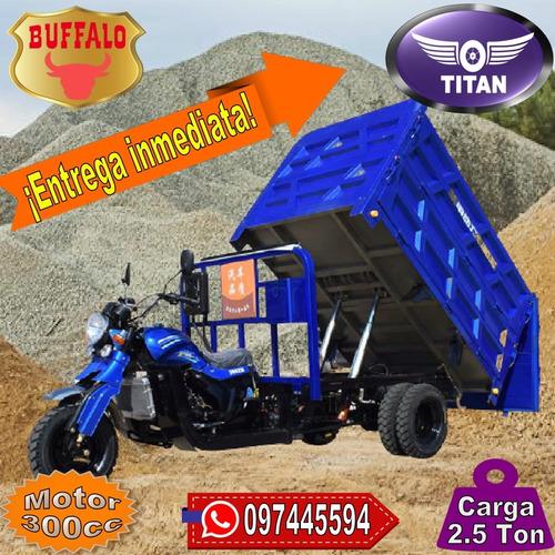 Triciclo Volcadora Granelera Titan Buffalo 0 Km