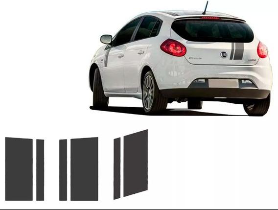 Kit Adesivo Fiat Bravo Sporting 2012/ Ou Outros Carros Grafi
