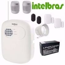Kit Central Alarme Intelbras Anm 3004 St Sem Fio