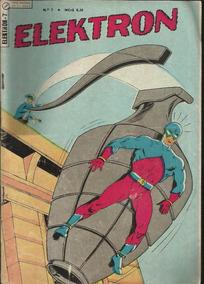 Revista Hq Elektron Nº 7 Gil Kane Ed. Ebal 1967