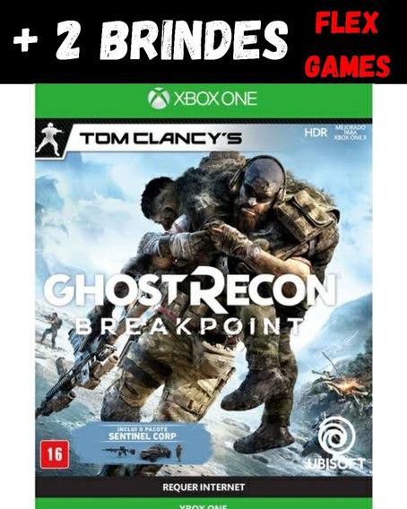 Ghost Recon Break Point Xbox One + 2 Brindes