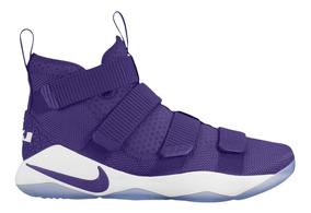 Nike Lebron Soldier 11 Tb Purple Basquetbol Mayma Sneakers
