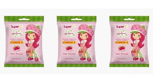 Nutriex Moranguinho Suplemento De Vitamina C 25g (kit C/03)