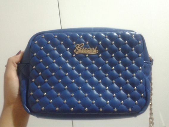 Bolsa Gucci Azul
