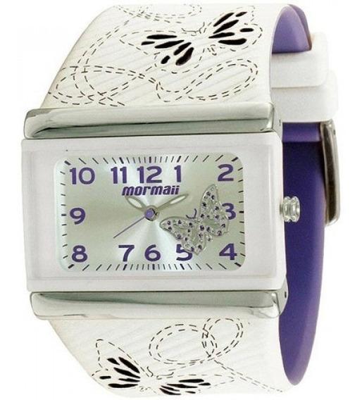 Relógio Mormaii Branco Feminino Usado Frete Grátis!!!!