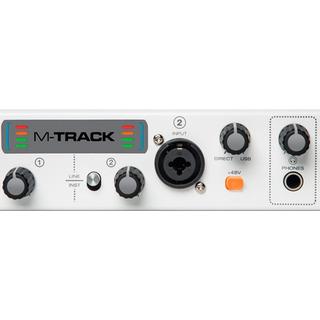 Placa Interface M-audio M-track Plus Ii 2 Canais Usb
