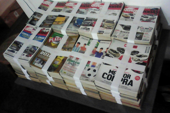 Coleção Revista Quatro Rodas 164 Ed + Compl De 1980 A 2004