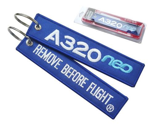 Llavero Airbus A320neo Remove Before Flight ®