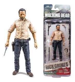 The Walking Dead Rick Grimes 15 Cm Blister Cerrado Original
